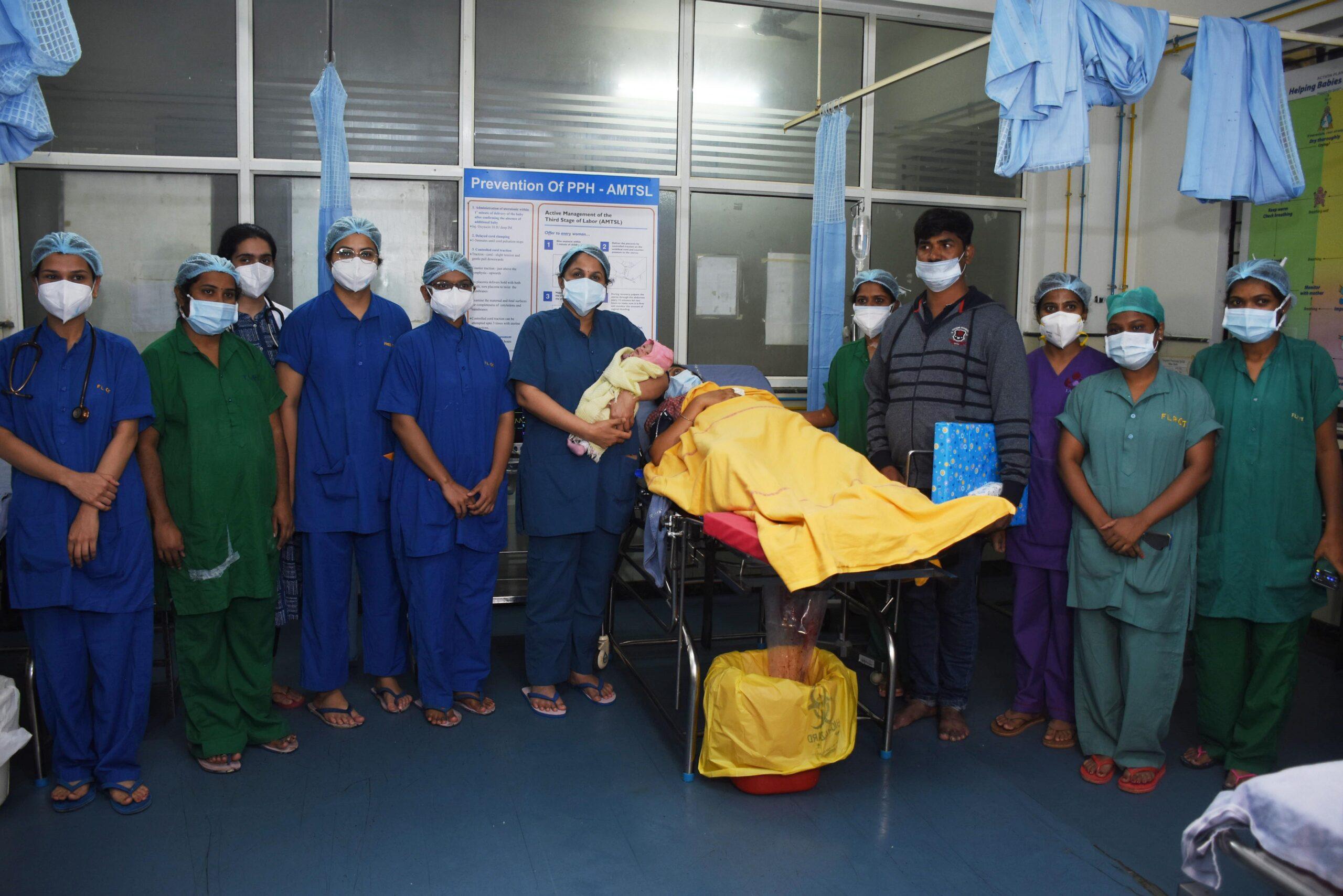 safe birth ferring India